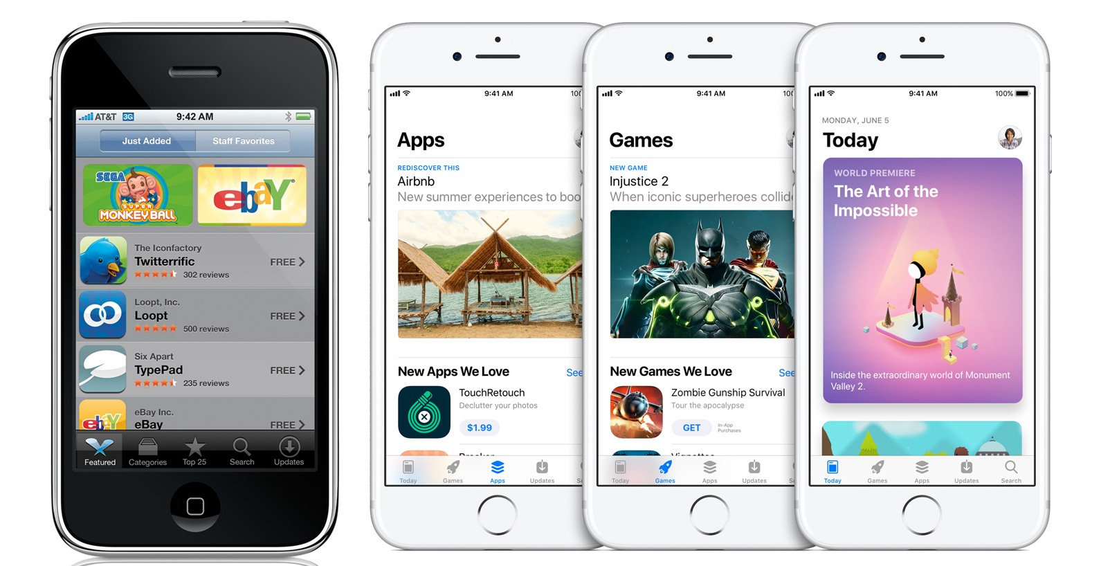 photo image 10 Years of App Store: A Timeline of Changes