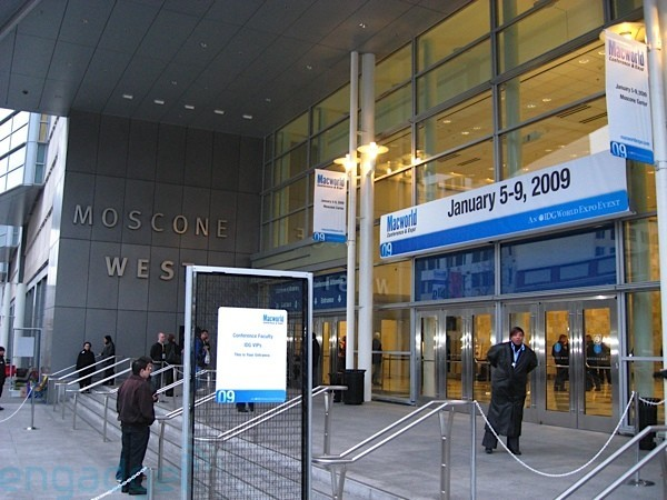 Macworld 2009. Image via Engadget